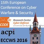 ECCWS 2016 Banner
